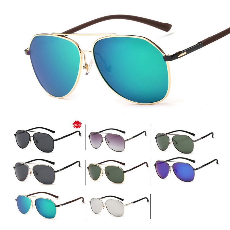 Mens sport UV400 polarized resin grilamid tr90 sunglasses high quality