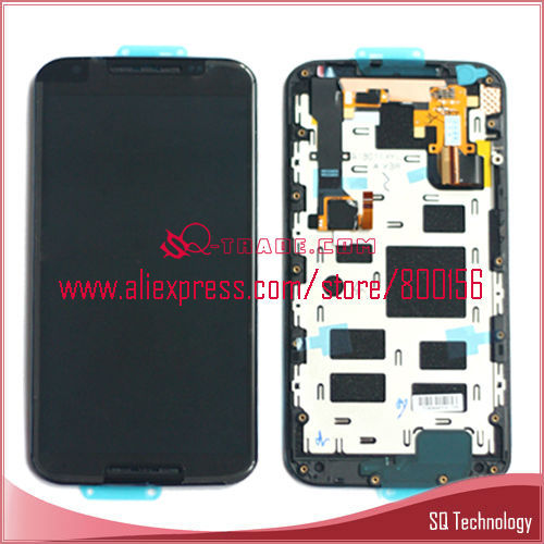 New Product LCD Display and Digitizer Touch Screen with Frame for Motorola for Moto X2 X+1 XT1096 XT1097 LCD