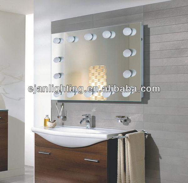 Hollywood specchio con luci specchio del bagno id prodotto 1803698272 - Specchio per trucco con luci ...