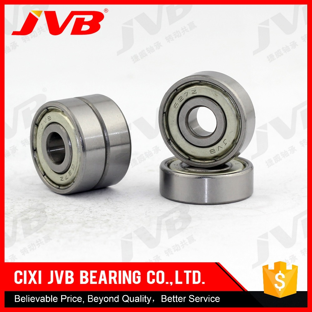 Alibaba China Good Quality Low Noise High Precision Axial Load deep groove ball bearings 627 z abec 3