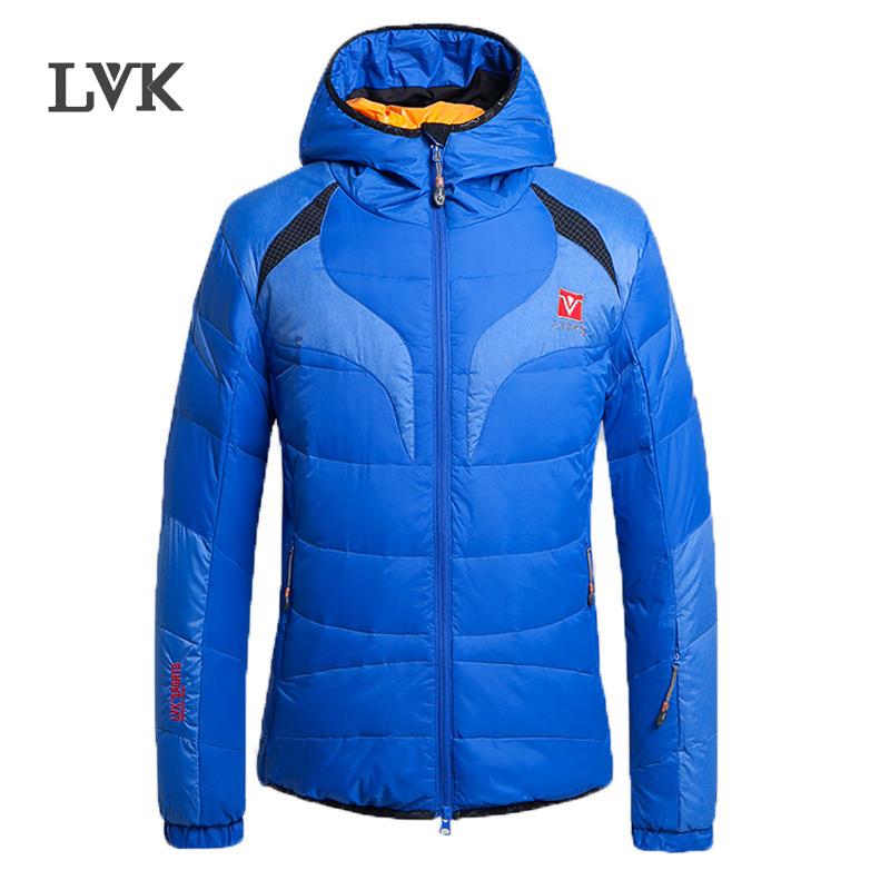 2016 new LVK Famous Brand winter jacket men patchwork warm
