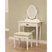 high quality wooden vanity make up dressing table Wholesale