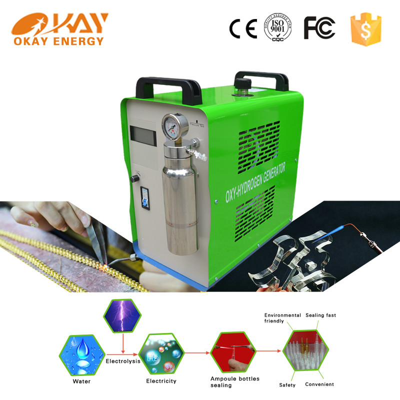Okay Energy OH300 oxyhydrogen jewelry solder equipment