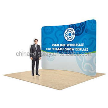 Portable Exhibition Display : Wedding expo fabric display wall portable exhibition booth buy