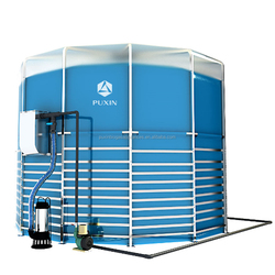 Puxin 15m3 Assembly Biogas from Manure Anaerobic Digestion