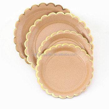 Kraft Paper Plates Party Paper Dishes 7\u0026quot; 9\u0026quot; ...  sc 1 st  Alibaba & Kraft Paper Plates Party Paper Dishes 7\