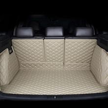 Kalaisike пользовательские автомобильный коврик для багажника для Audi все модели A3 Q5 Q3 Q7 A5 A7 SQ5 A8 Автомобильный Стайлинг авто аксессуары пользова...(Китай)