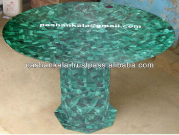 Stone Base Coffee Table.Exclusive Malachite Table Top With Malachite Stone Base Buy Malachite Gemstone Table Malachite Stone Coffee Table Natural Malachite Table Product On