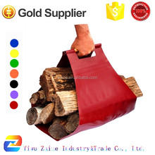 Extra Large, Strong & Rugged Wood Carrier Tote for Fireplaces, Camping, Cabins, and Bonfires