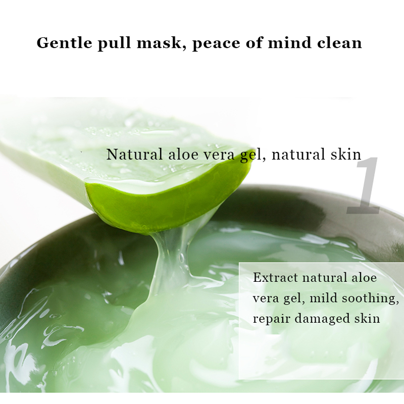 Pialten White Clay Deep Cleaning Peel-off Mask Ance Blackhead Remover Mask