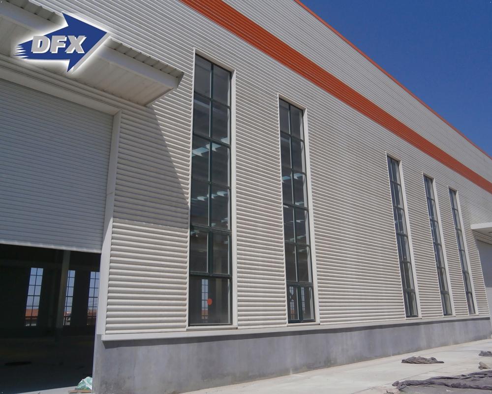 ชิงเต่าModularราคาถูกเหล็กขนาดใหญ่กรอบโรงงานWorkshop Shopอาคารโลหะโครงสร้าง