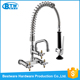 wholesale custom wall mounted commercial pre-rinse stainless steel industrial kitchen sink faucet