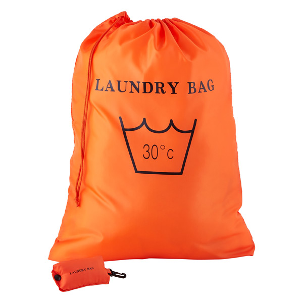 High Quality Travel Foldable Polyester Drawstring Laundry Bag