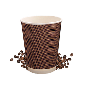 ripple wall disposable vending coffee Paper Cups with Lids and Paper Plates
