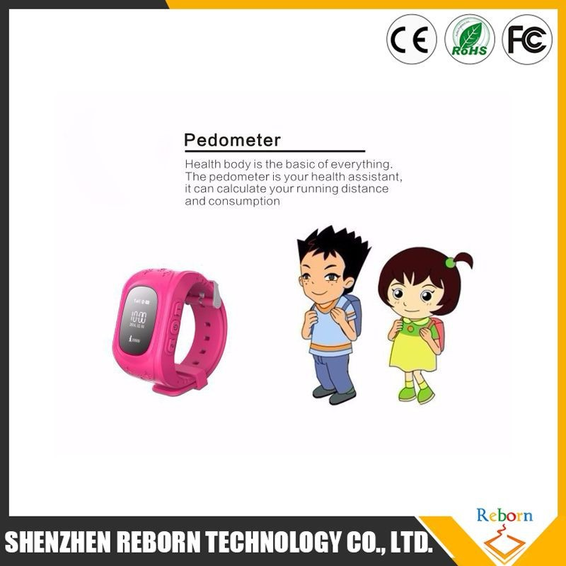 2015 Alibaba china Waterproof Kids GPS Tracking silicone wrist watch for SOS