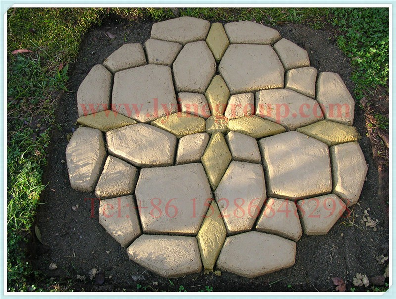 Pathmate Stepping Stone Mold Pathways Curved Path Concrete Random Paving  Moulds