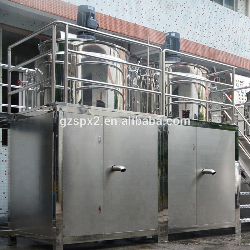 SIPUXIN Ontharing Wax Making Machine Vloeibare Zeep Mengen Tank Lotion Mixer