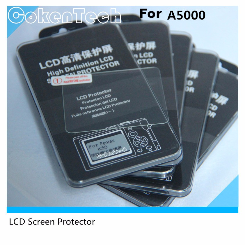 Ultrathin Resin Lens Screen Protector For Digital Camera A5000