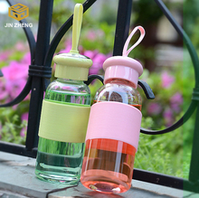 hand Portable water glass bottle Readily Space Portable Sports