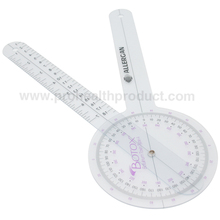 Plastic Medical Goniometer Ruler For Pharmaceutical Promotional Measuring Scale