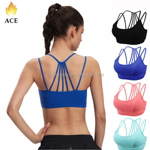 Women Custom Sexy Blank comfortable Perfect Body Fit Hot Yoga Bra
