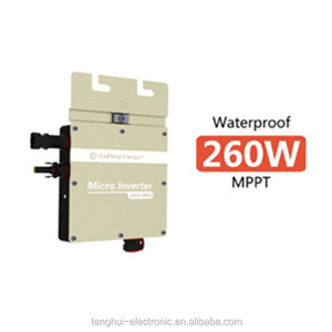 dc ac micro inverter,china pv micro inverter 260W micro solar power inverter