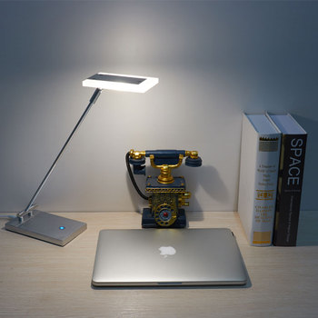 Led Desk Lamp With Cob Chip And Stainless Steel Table