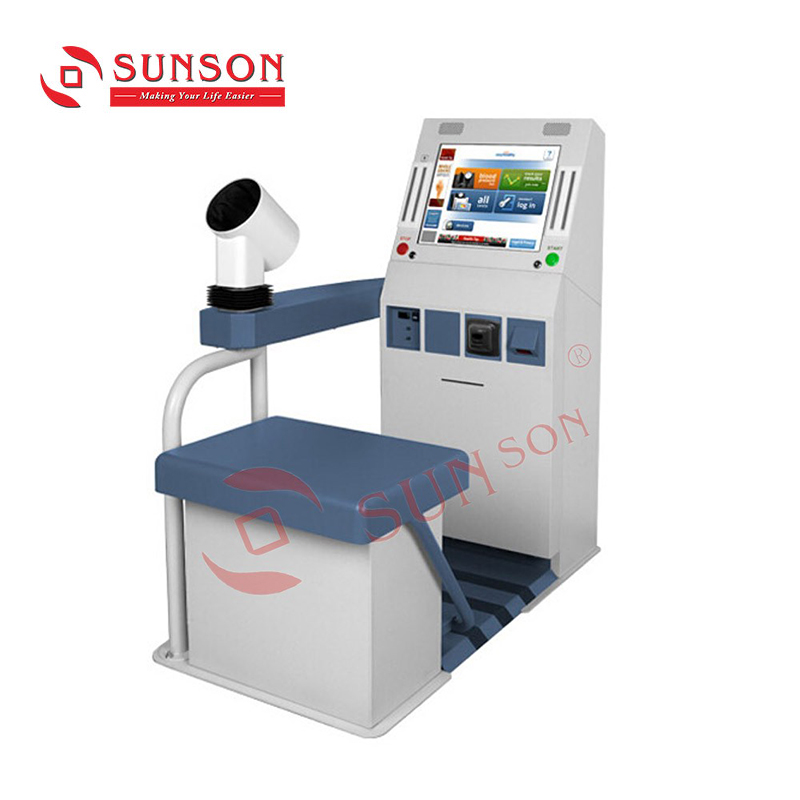 Self Service Blood Pressure Kiosk/Hospital Appointment Scheduling Kiosk