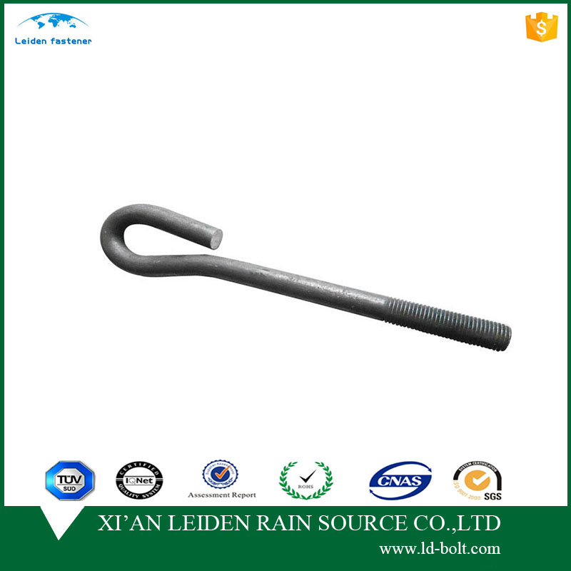 j type foundation anchor bolt m27 from the chinese factory