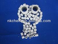 Ceramic raschig ring packing