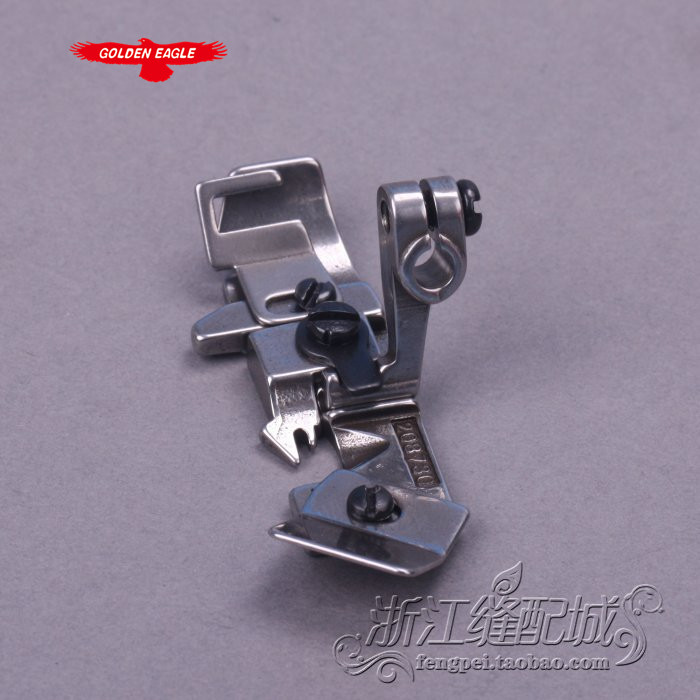Sewing Accessories Pegasus M700 M600 lock four-thread overlock machine presser foot straps embedded line 208730