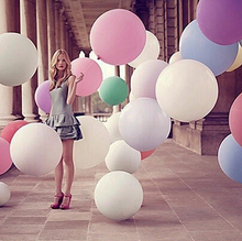 Birthday Gift Colorful Giant Big Balloon Latex Wedding Party Helium Decoration 36 inch Kids Toy