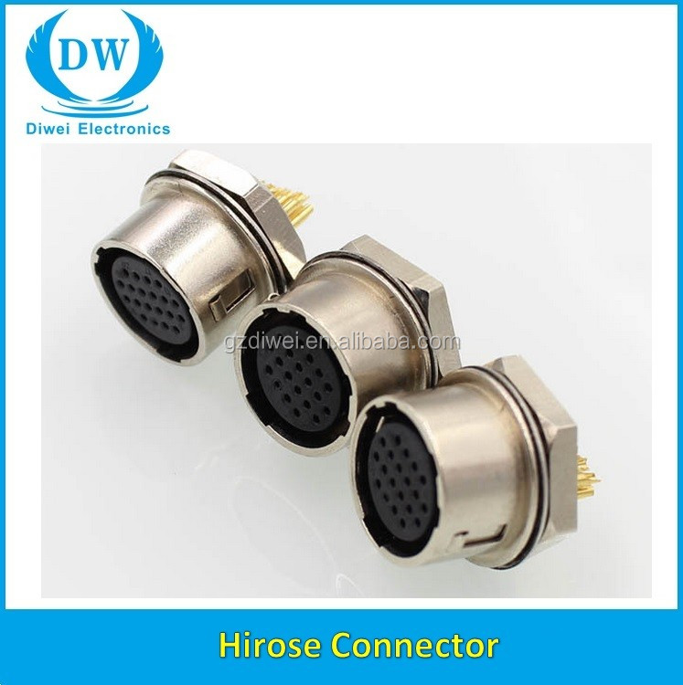Hrs Data Cable Assembly Wire Harness With Hirose Connector