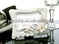 Elegant Tiger Lily Photo and Place Card Frame Favor bridal shower favor
