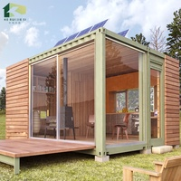 Luxury factory price mobile shipping container living home 20ft 40ft for hot sale with solar panel