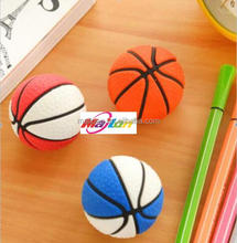Solid eraser fancy basketball class present elementary items for hot sale
