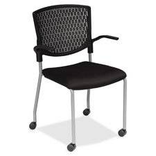 "Plastic Back Guest Chair, 20-1/2""x22""x34-1/2"", White, Sold as 1 Carton"