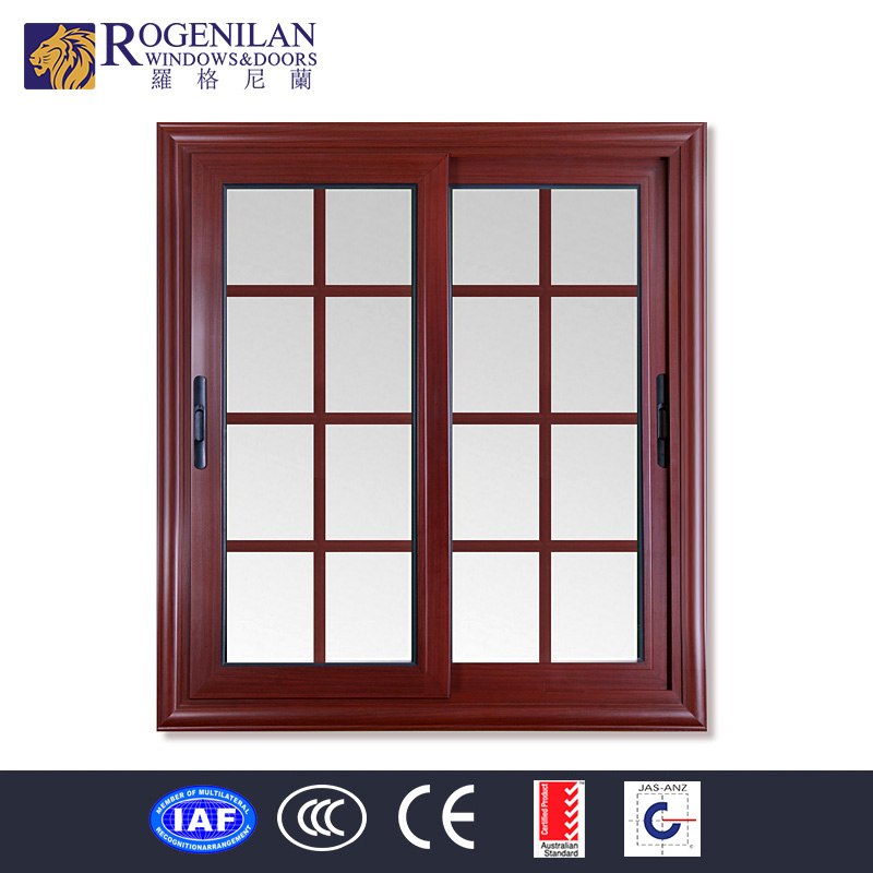Rogenilan Modern Frosted Glass Aluminum Profile House