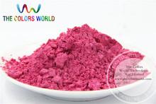 Rose Red Color Pearlescent pigment,pearl luster pigment,Mica Powder DIY  Makeup Nail Design ,Nail Polish 1 lot= 50g