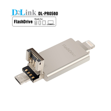 Promotional Wholesale China Factory Custom PC Computer 8/16/32GB OTG 3in1 phone external hard usb flash drive for iPhone