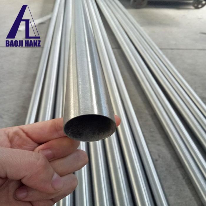 High quality grade 5 titanium tube price per kg