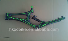 2014 Draco No Turning Point Soft Tail downhill bike frame carbon frame monocoque bike frame