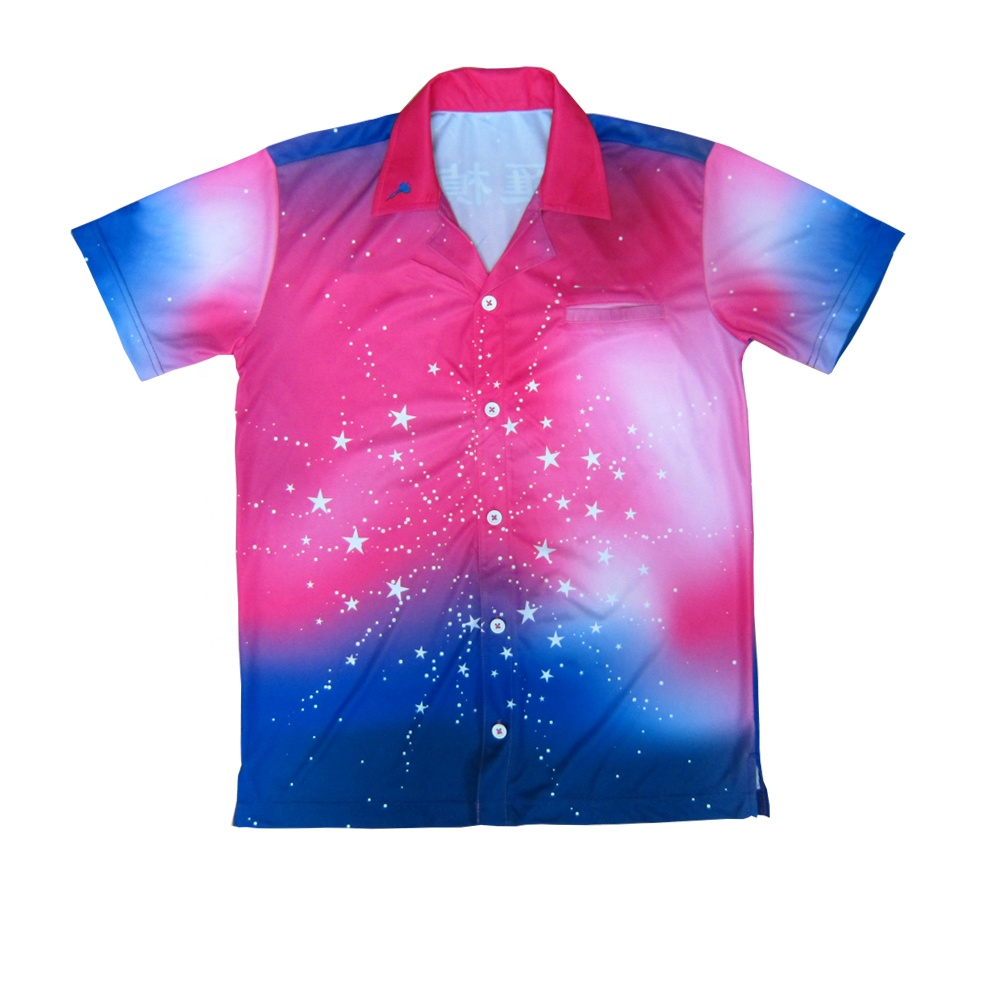 custom sublimation dry fit dart jersey light weight dart pit crew shirt