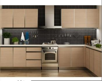New Design L-shape Melamine Kitchen Cabinet Price Export To Indonesia - Buy  Melamine Kitchen Cabinet Price,Melamine Kitchen Cabinet,Melamine Complete  ...