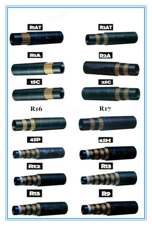 Factory Produced Hydraulic Hose,High Quality R1 R2 Hydraulic Hose ...