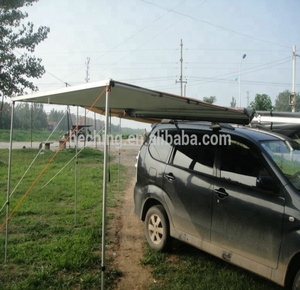 4x4 flat car roof top awning tent