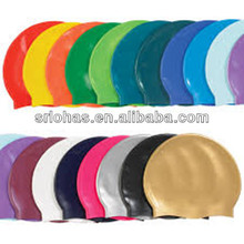 customized silicone rubber waterproof swimming/diving cap swimming/diving hat