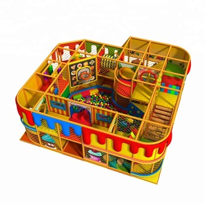 Commercial Indoor Playground Children Soft Play Indoor Games Playground Equipment