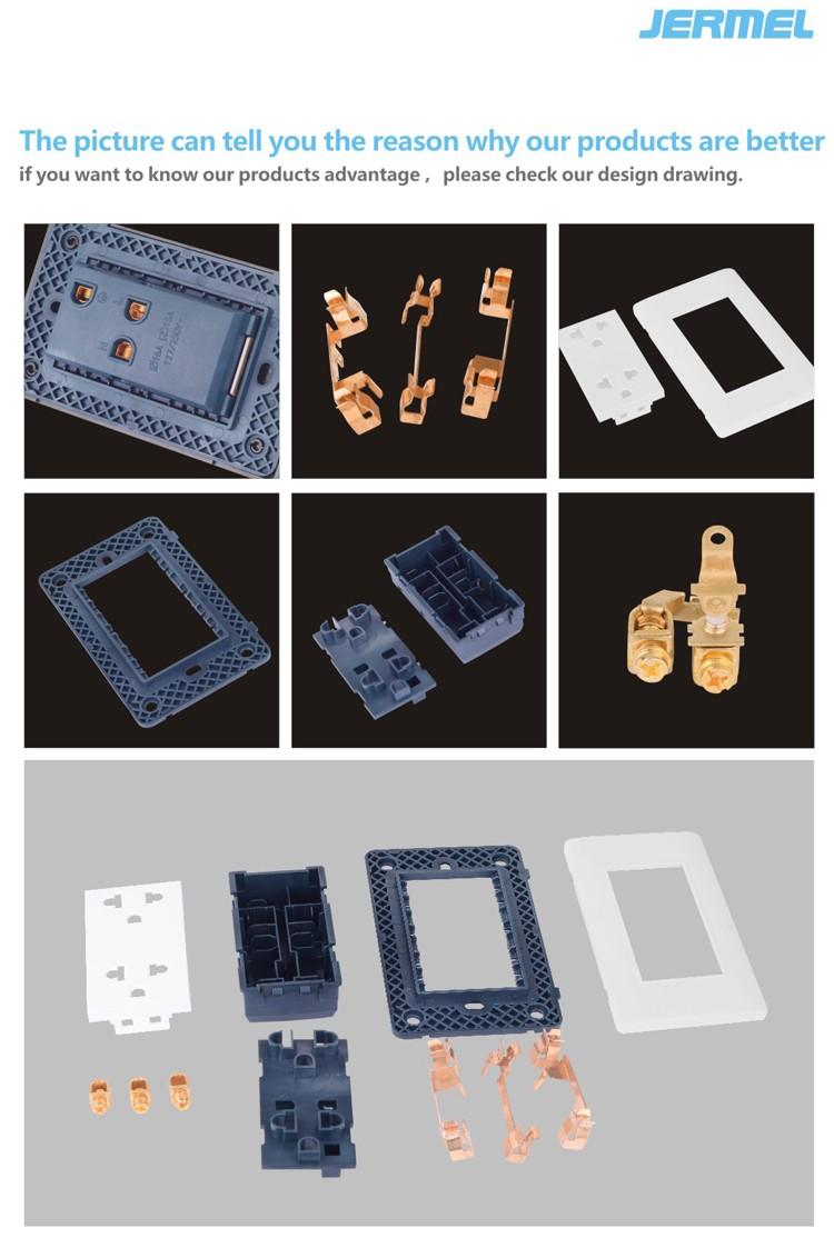 15 Amp 120/277 Volt Iec Nom Retire Standard Acrylic Plate 3 Gang 3 ...