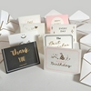 Factory price custom design bulk thank you cards pack
